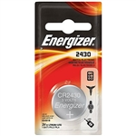 ECR2430BP Energizer Battery, 3.0 Volt Lithium Coin CR2430