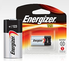 Energizer EL123APBP Energizer Photo 123 Lithium Battery