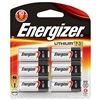 Energizer EL123BP-6 Photo 123 Lithium Battery 6 Pack