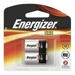 Energizer EL1CR2BP2 Energizer 3 Volt Lithium Photo Battery CR2 - 2/pkg