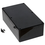 "Hammond 1591ESBK<br>Multipurpose Plastic Enclosure - Economical Version- <b>7.5""L x 4.3""W x 2.2""D - Black</b>"