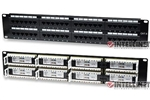 ICI 560283 Cat6 Patch Panel, 48-Port, UTP, 2U