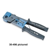 30-497 Ideal Industries<br>Telemaster Telephone Crimp Tool for RJ-45 (4 pair) & DECconnect MMJ (RJ-11, 3 pair)