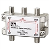 85-334 Ideal Industries<br>5 MHz to- 2.3 GHz 4-Way Satellite Digital Cable Splitter