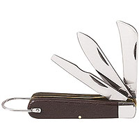 Klein Tools 1550-6 3-Blade Pocket Knife