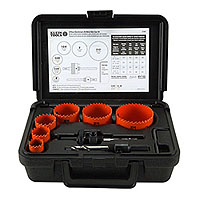 Klein Tools 31902 Hole Saw Kit 8-Piece Bi-Metal