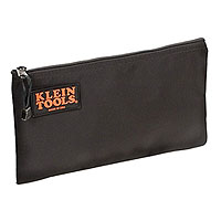 Klein Tools 5139B Zipper Bag Black Nylon