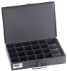 Klein Tools 54440 Mid-Size 21-Compartment Storage Box with Tool Compartment