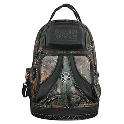 Klein Tools 55421BP14CAMO Tradesman Organizer Camo Backpack