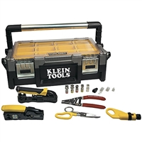 Klein Tools VDV001-833 VDV ProTech Data & Coaxial Kit