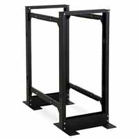Kendall Howard 1940-3-100-24 Open Frame Server Rack, 4-Post 24U Adjustable Rack