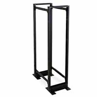 Kendall Howard 1940-3-100-45 Open Frame Server Rack, 4-Post 45U Adjustable Rack