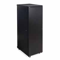 "Kendall Howard 3104-3-001-37 37U LINIER Server Cabinet - Solid/Convex Doors - 36"" Depth"