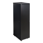"Kendall Howard 3104-3-001-42 42U LINIER Server Cabinet - Solid/Convex Doors - 36"" Depth"