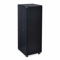 "Kendall Howard 3104-3-024-37 37U LINIER Server Cabinet - Solid/Convex Doors - 24"" Depth"