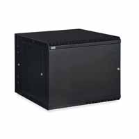 Kendall Howard 3131-3-001-09 9U LINIER Swing-Out Wall Mount Cabinet - Solid Door
