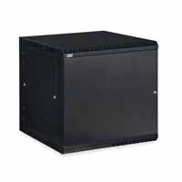 Kendall Howard 3131-3-001-12 12U LINIER Swing-Out Wall Mount Cabinet - Solid Door
