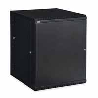 Kendall Howard 3131-3-001-15 15U LINIER Swing-Out Wall Mount Cabinet - Solid Door