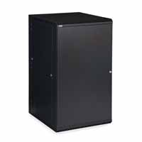 Kendall Howard 3131-3-001-22 22U LINIER Swing-Out Wall Mount Cabinet - Solid Door