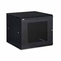 Kendall Howard 3132-3-001-12 12U LINIER Swing-Out Wall Mount Cabinet - Vented Door