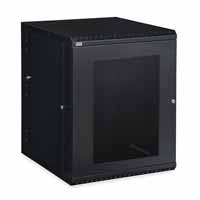 Kendall Howard 3132-3-001-15 15U LINIER Swing-Out Wall Mount Cabinet - Vented Door