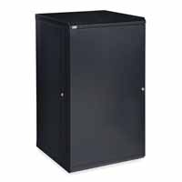 Kendall Howard 3141-3-001-22 22U LINIER Fixed Wall Mount Cabinet - Solid Door