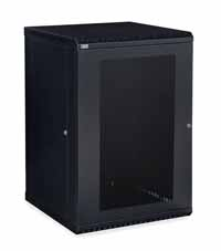 Kendall Howard 3142-3-001-18 18U LINIER Fixed Wall Mount Cabinet - Vented Door