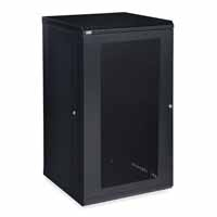 Kendall Howard 3142-3-001-22 22U LINIER Fixed Wall Mount Cabinet - Vented Door