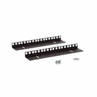 Kendall Howard 3150-3-001-06 6U LINIER Wall Mount Vertical Rail Kit - Cage Nut
