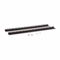 Kendall Howard 3150-3-001-15 15U LINIER Wall Mount Vertical Rail Kit - Cage Nut