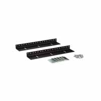 Kendall Howard 3150-3-002-06 6U LINIER Wall Mount Vertical Rail Kit - 10-32 Tapped