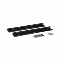 Kendall Howard 3150-3-002-09 9U LINIER Wall Mount Vertical Rail Kit - 10-32 Tapped