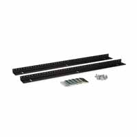 Kendall Howard 3150-3-002-15 15U LINIER Wall Mount Vertical Rail Kit - 10-32 Tapped