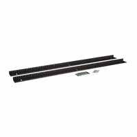 Kendall Howard 3150-3-002-22 22U LINIER Wall Mount Vertical Rail Kit - 10-32 Tapped