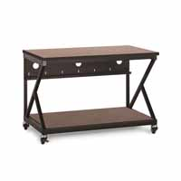 "Kendall Howard 5000-3-303-48 48"" Performance 300 Series LAN Station - Serene Cherry"
