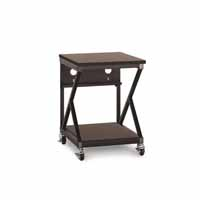 "Kendall Howard 5000-3-304-24 24"" Performance 300 Series LAN Station - African Mahogany"