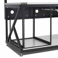 Kendall Howard 5200-3-600-13 LAN Station Racking System