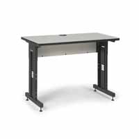 "Kendall Howard 5500-3-000-24 48"" W x 24"" D Training Table - Folkstone"