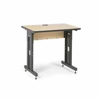 "Kendall Howard 5500-3-001-23 36"" W x 24"" D Training Table  - Hard Rock Maple"