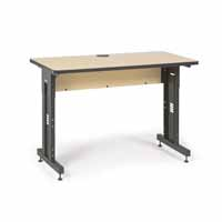 "Kendall Howard 5500-3-001-24 48"" W x 24"" D Training Table - Hard Rock Maple"