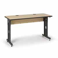 "Kendall Howard 5500-3-001-25 60"" W x 24"" D Training Table - Hard Rock Maple"