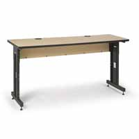 "Kendall Howard 5500-3-001-26 72"" W x 24"" D Training Table - Hard Rock Maple"
