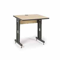 "Kendall Howard 5500-3-001-33 36"" W x 30"" D Training Table  - Hard Rock Maple"