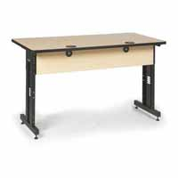 "Kendall Howard 5500-3-001-35 60"" W x 30"" D Training Table - Hard Rock Maple"