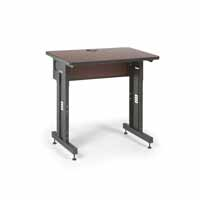 "Kendall Howard 5500-3-003-23 36"" W x 24"" D Training Table  - Serene Cherry"