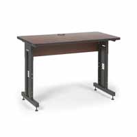"Kendall Howard 5500-3-003-24 48"" W x 24"" D Training Table - Serene Cherry"