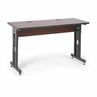 "Kendall Howard 5500-3-003-25 60"" W x 24"" D Training Table - Serene Cherry"