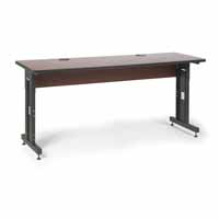 "Kendall Howard 5500-3-003-26 72"" W x 24"" D Training Table - Serene Cherry"