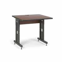 "Kendall Howard 5500-3-003-33 36"" W x 30"" D Training Table  - Serene Cherry"
