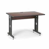 "Kendall Howard 5500-3-003-34 48"" W x 30"" D Training Table - Serene Cherry"